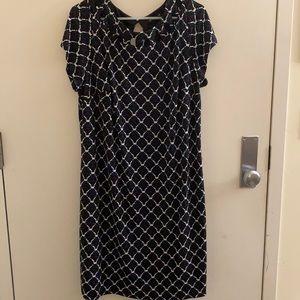 41 Hawthorne Edith Lattice Knit dress